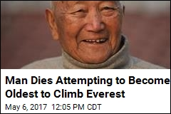 Man Dies Attempting to Become Oldest to Climb Everest