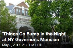 'Things Go Bump in the Night' at NY Governor's Mansion