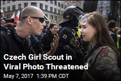 Cops Get Involved After Czech Girl Scout Threatened