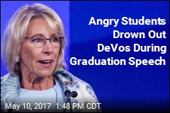DeVos Booed Heartily During Commencement Speech