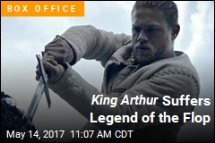 King Arthur Suffers Legend of the Flop