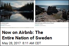Now on Airbnb: The Entire Nation of Sweden