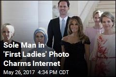 One of These Things Is Not Like the Others in First Ladies Photo
