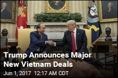 Trump Praises Deals After Vietnam Meeting