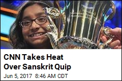 CNN Takes Heat Over Sanskrit Quip