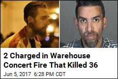 2 Charged in Ghost Ship Warehouse Concert Fire