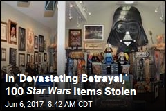 Largest Star Wars Collection Robbed
