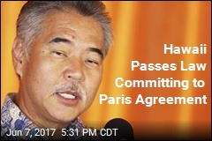 Hawaii Passes Law Committing to Paris Agreement