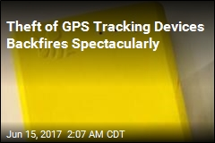 Theft of GPS Tracking Devices Backfires Spectacularly