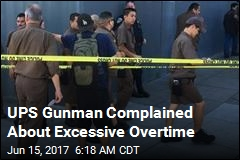 UPS Gunman Complained About Excessive Overtime