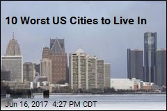 10 Worst US Cities to Live In