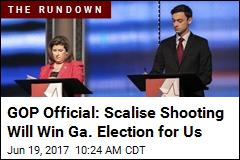 GOP Official: Scalise Shooting Will Win Ga. Election for Us