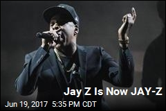Jay Z, Once Jay-Z, Is Now JAY-Z