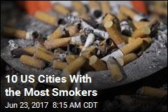 10 US Cities With the Most Smokers