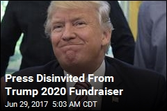 Trump Holds First 2020 Fundraiser