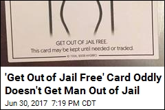 Man Tries to Use Monopoly Card to Avoid Arrest