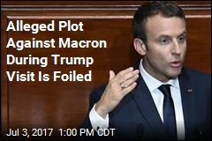 Police May Have Foiled Plot to Kill Macron