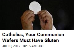 Vatican: Sorry, No Gluten-Free Communion Wafers