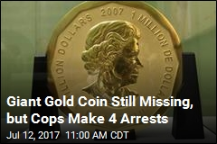 Cops Raid Sites After Crazy Gold Heist, Can't Find Coin