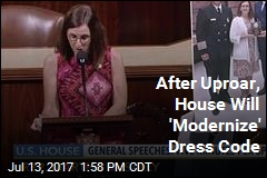 After Uproar, House Will 'Modernize' Dress Code