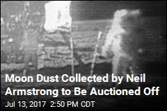 Moon Dust Collected by Neil Armstrong to Be Auctioned Off