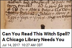 Can You Read This Witch Spell? A Chicago Library Needs You