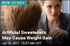 Artificial Sweeteners Don't Seem to Help Weight Loss