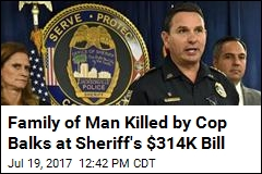 Sheriff's Office Wants $314K for Info on Troubled Cop