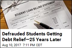 Students Getting Debt Relief—25 Years Later