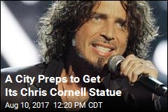 Chris Cornell Statue in the Works