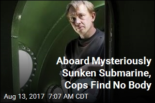 Aboard Mysteriously Sunken Submarine, Cops Find No Body