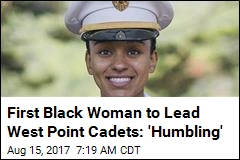 West Point Cadets Have Their First Black Female Leader