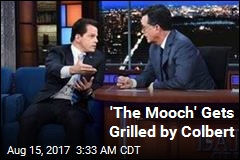 'The Mooch' Gets Grilled by Colbert