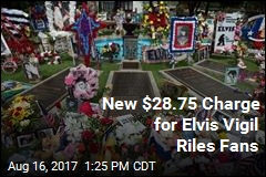 Elvis Fans Not Happy About $28.75 Charge for Vigil