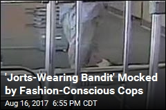 Cops: Call the Fashion Police on 'Jorts-Wearing Bandit'