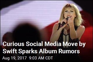Rumors of New Album Fly After Swift Deletes All Social Media