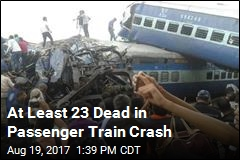 Train Derails in India, Killing at Least 23