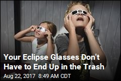 Your Eclipse Glasses Don't Have to End Up in the Trash