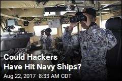Navy Not Ruling Out Possible Hack in Accidents