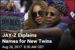 JAY-Z Explains Names for New Twins