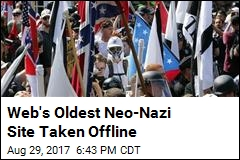 Web's Oldest Neo-Nazi Site Taken Offline