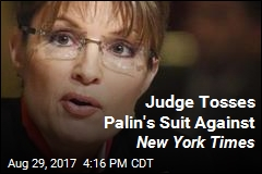 Judge Tosses Palin's Suit Against New York Times