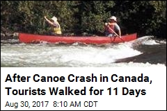 After Canoe Crash in Canada, Tourists Walked for 11 Days