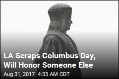 LA Scraps Columbus Day, Will Honor Someone Else