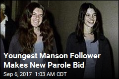 Youngest Manson Follower Makes New Parole Bid