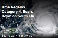 Irma Regains Category 4, Bears Down on Key West