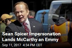 Sean Spicer Impersonation Lands McCarthy an Emmy