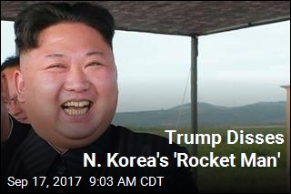 Trump Disses N. Korea's 'Rocket Man'