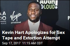 Kevin Hart Apologizes for Sex Tape and Extortion Attempt