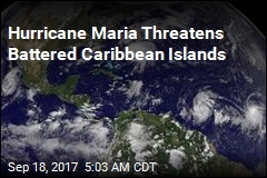 Hurricane Maria Threatens Battered Caribbean Islands